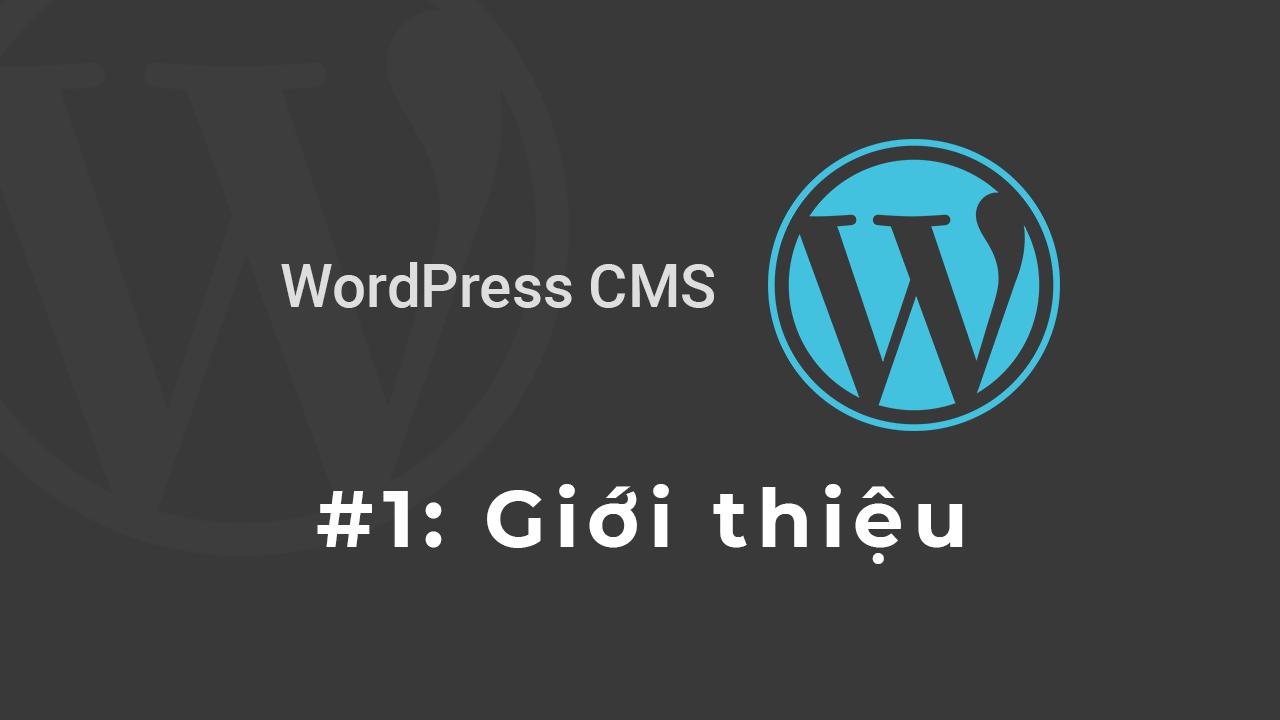 WordPress là gì, tại sao chúng ta nên sử dụng WordPress CMS!